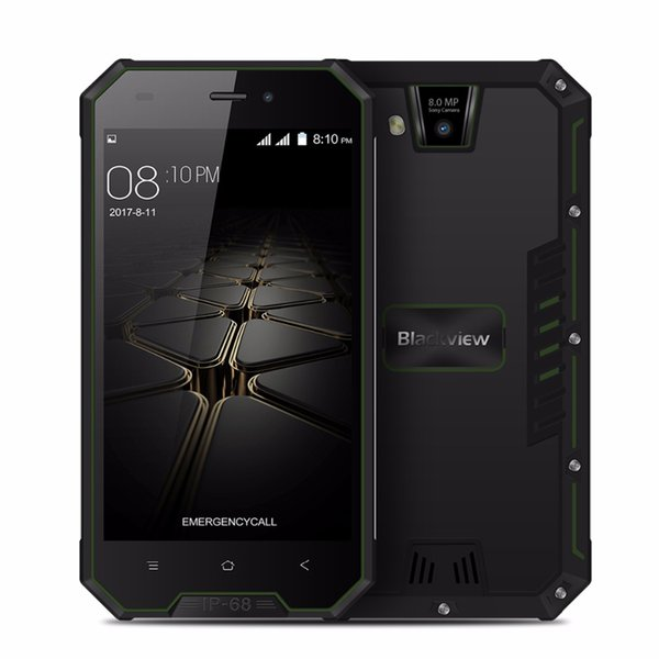 Blackview BV4000 Pro Smartphone 4.7 Inch HD 2GB/16GB MTK6580A Quad Core IP68 Waterproof Android 7.0 3G Cell phone 8MP GPS