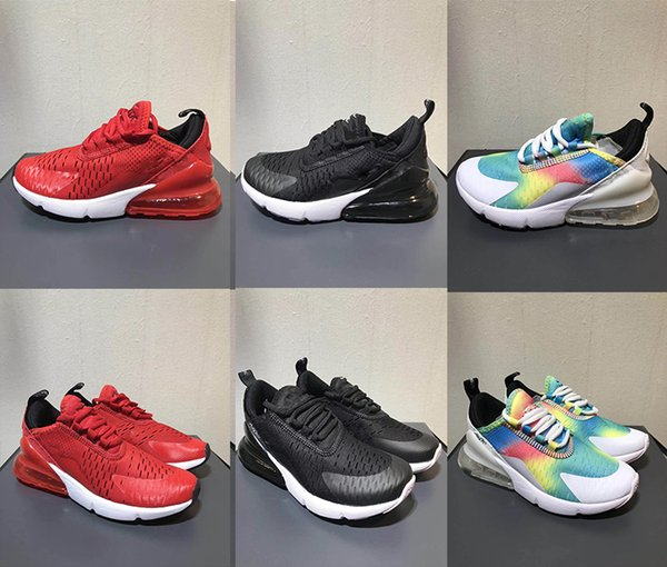 55826cec1c8f89 (with box)Child Infant 270 OG Kids Running shoes Cactus 27c Aircushion  Outdoor Toddler Athletic 270S Boy Girl Children Sneaker Size 28-35