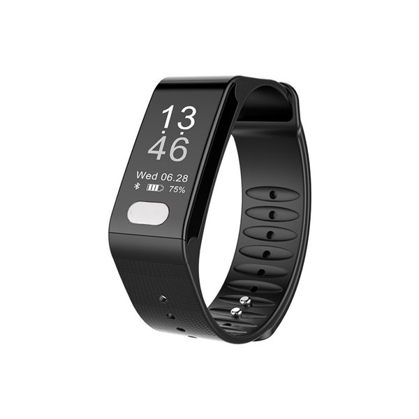 2018 Sports Fitness Tracker Smart Bracelet Heart Rate Monitor ECG Blood Pressure Fitness Band Pulse Smart Watch Men Woman