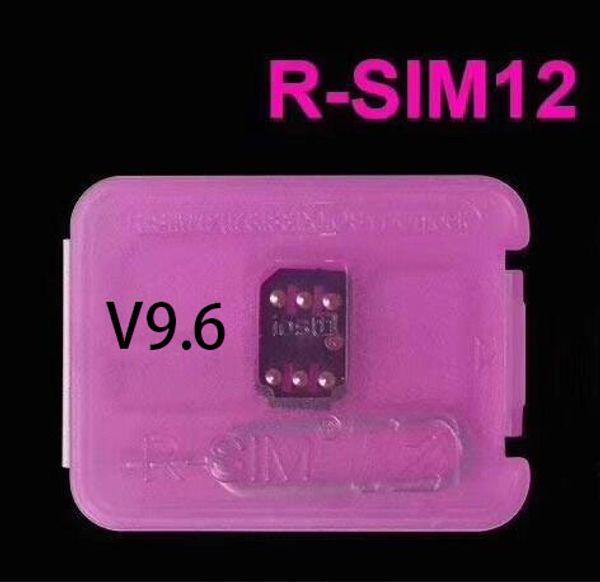 Christmas Rsim 12 r sim 12 RSIM12 unlock card v9.1 for iphone x 8 7 plus and i6 unlocked iOS 11 ios 11.x-7.x 4G CDMA GSM WCDMA SB AU SPRINT