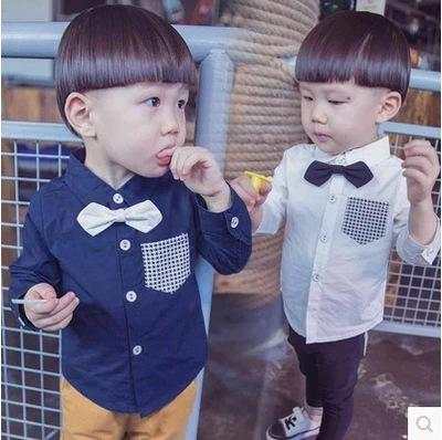 2018 brand new children's plaid shirt spring autumn cotton casual shirt for children daily kids clothing shirt