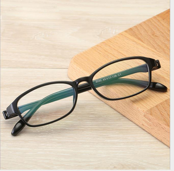 2019 The fashion eye frame can be equipped with myopic light mirror. Framed spectacles for student spectacle frames