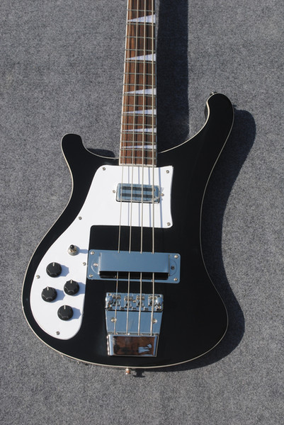 Black Bass Guitars 4003 Left Handed Electric Bass stereo High Quality Top Musical instruments