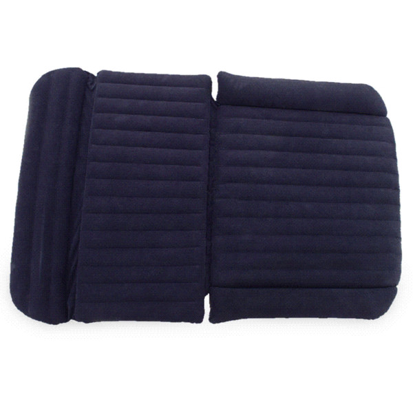 Air Inflation Car Bed Mattress Back Seat Camping Flocking PVC Original Drive Travel Car Seat Cover Automobile