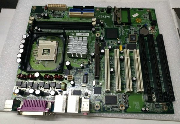 G4E620-N-G 3 ISA Slot industrial motherboard tested working G4E620