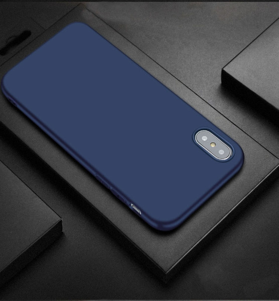Cell Phone Cases For Iphone 8 plus 7 6S 6 plus Iphone X Mobile phone Accessories shell frosted tpu anti dropping protective epacket