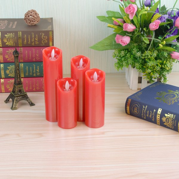 Factory outlet brand new cheap price flickering flameless candle light for sale made from real wax
