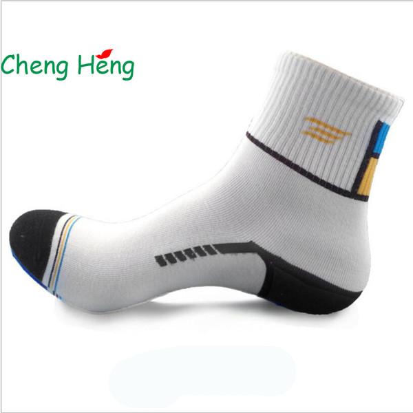 CHEN GHENG 10 Pairs/Bag The New Hot Autumn And Winter Cotton Socks Fashion Style Men's Socks Unique Mosaic Color 5 Colors