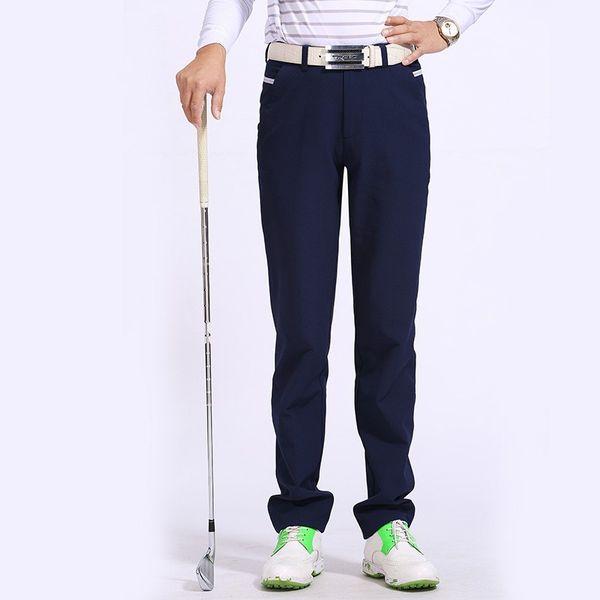 Hot sale golf pants Men brand coon golf sports white long trousers black fitness quick dry full length pants sportwear