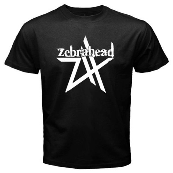 2018 Summer Style New ZEBRAHEAD American Rock Band Men's Black T-Shirt Size S M L XL 2XL 3XLHipster O-neck cool tops