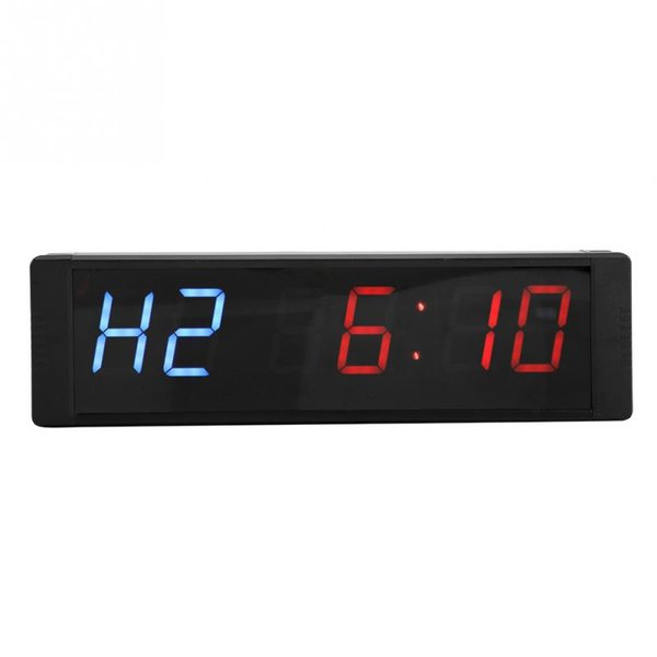1.5 Multifunctional Desk Clock Digital LED Desk Clock Gymnastic Training as alarm loop clocking countdown timer
