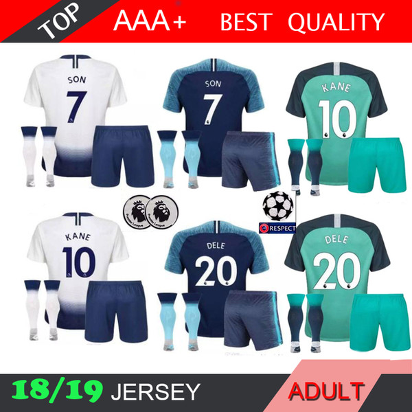 d6acf2db7 Jer ey men kit 18 19 home white away third green occer jer ey 2018 2019