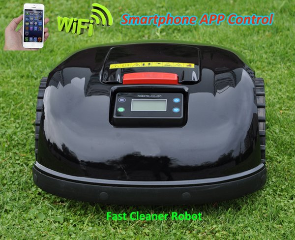 NEWEST and Best Robot Grass Cutter E1600T With Auto Recharged,Schedule,Remote Control,Smartphone WIFI APP Control