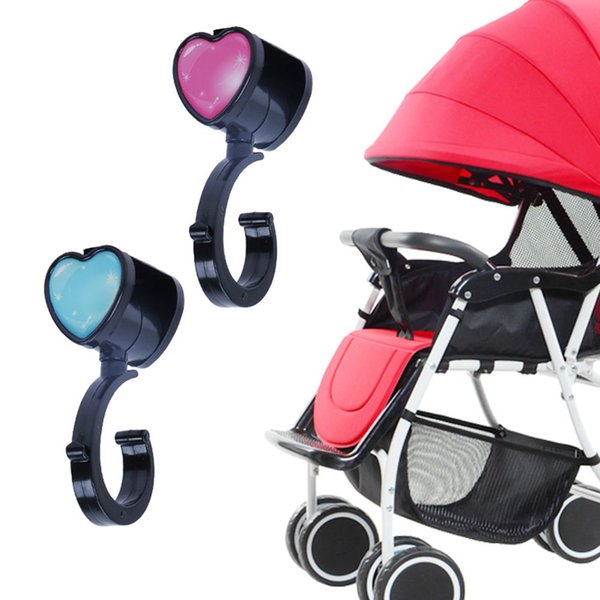2pcs Baby Strollers Accessories Pushchair Pram Stroller Buggy Hanger Hooks Clips For Baby Car Seat Accessories