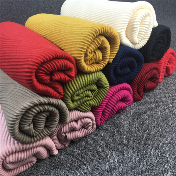 Women scarfs 2017,Viscose plain scarf,Plain viscose hijab,Ripples pattern,Muslim hijab,cape,shawls and scarves,wraps,muffler
