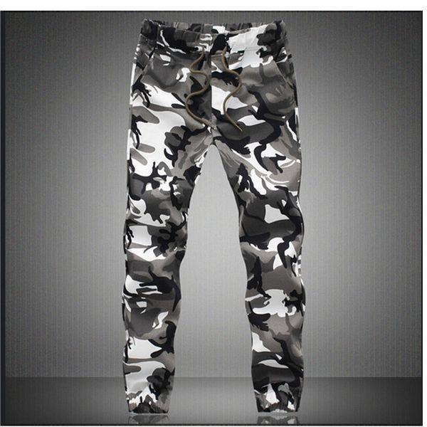 M-5X Mens Jogger Autumn Pencil Harem Pants Men Camouflage Military Pants Loose Comfortable Cargo Trousers Camo Joggers