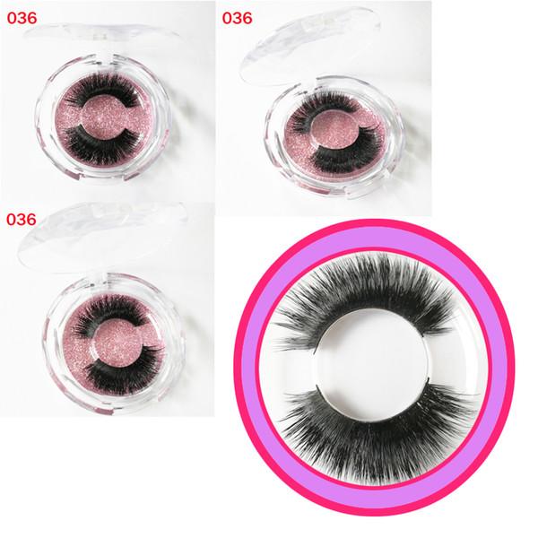 Hot20 styles Natural Thick Fake lashes real Mink Hot sell 100% Strip False Eyelash Long Individual Eyelashes Mink Lashes free shipping GR177