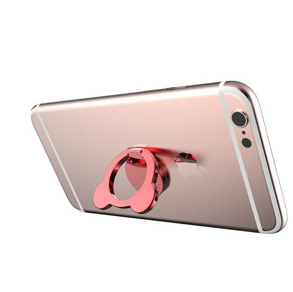 Top Quality Water Drop Finger Ring Holder Universal Mobile Phone Ring Magnetic Stander With Retail Package For iPhone Sumsung All Handset