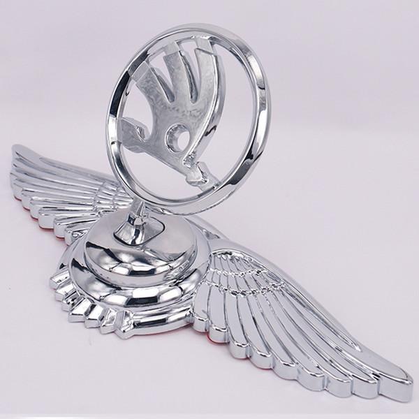 Metal Car Decoration 3D Car Emblem Badge Auto Front Hood Bonnet Sticker for Skoda
