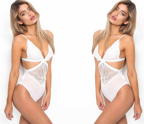 top popular 2018 Erotic underwear Foreign trade new lace lace sexy dress net yarn perspective strap Erotic Underwear 2019