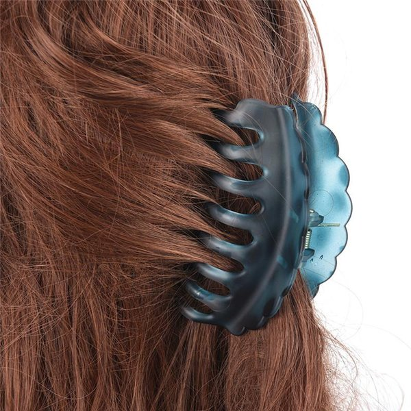 Women Hair Clip Large Size Acrylic Hairpins Solid Color Women Hair Crab Hair Claws Women Make UP Washing Tool Accessories