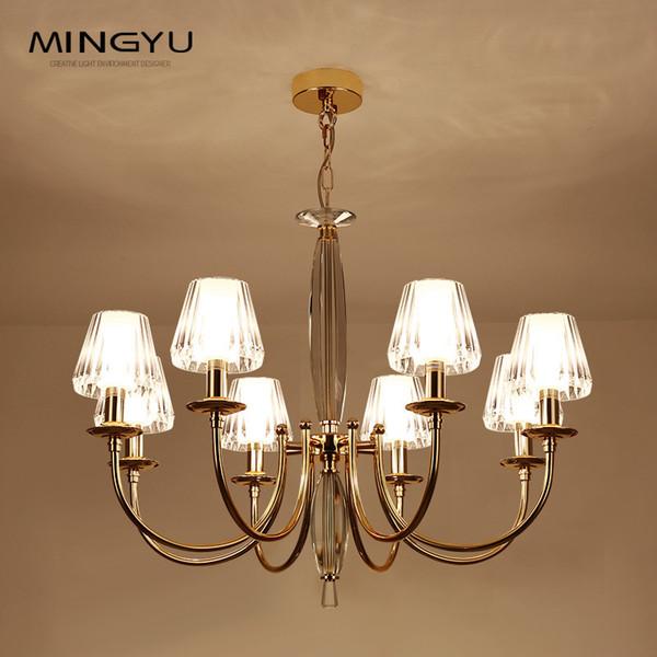 Luxus Kerze Kristall Kronleuchter Lüster Clear Acryl Pendelleuchte Moderne  Esszimmer Drop Licht Schlafzimmer Küche Dekor