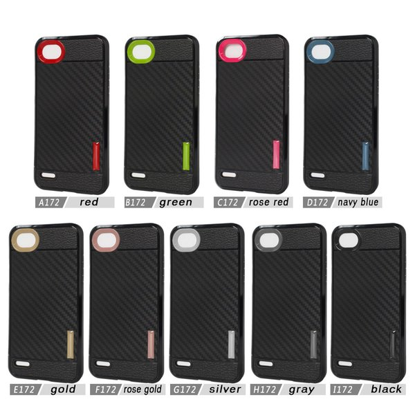 check out 8dc31 4d67d Carber Fiber Cover Armor TPU Case For LG Q6 Q6 Prime For Iphone X For ZTE  Blade A610 V6 Max Case B Waterproof Cell Phone Case Best Cell Phone Cases  ...