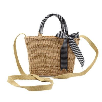 New Bali Island Hand Woven Bag Round Butterfly Rattan Straw Bags Satchel Wind Bohemia Beach Flap Bag High Quality INS Popular E66