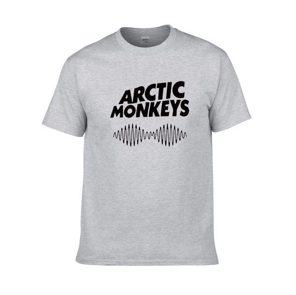 2018 Hot Arctic Monkeys Lettere Stampa T-shirt per uomo donna in cotone Camicia casual per Lady White Black Top Tee