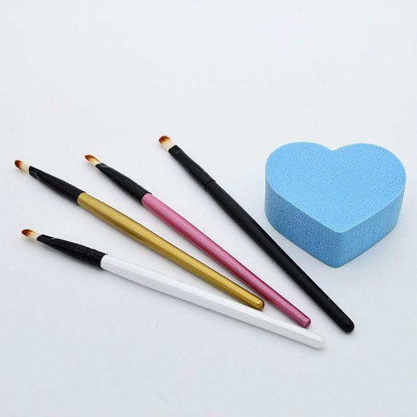Pennello per sopracciglia Super Soft Professional Pennello per ombretto Blending Angolatura Comestic Pennello per trucco BR025