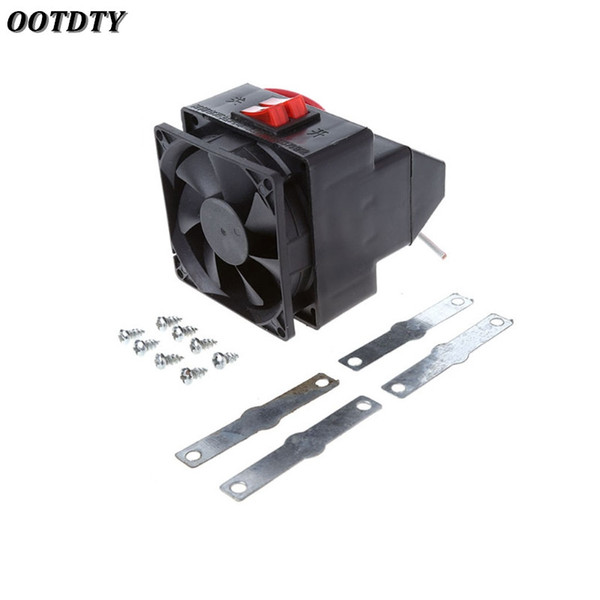 OOTDTY Portable 150W PTC Car Vehicle Heating Heater Hot Fan Defroster Demister DC 12V