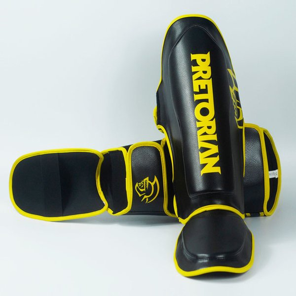 Pretorian Profession Grant Boxing Ticken Shinguards Greaves Instep Foot Muay Thai Twins Gloves Fighting Men Shin Guard