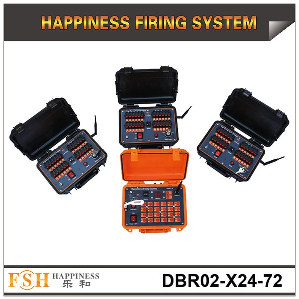 FedEX/DHL Free Shipping,72 cues wireless remote control sequential pyrotechnic fireworks firing system