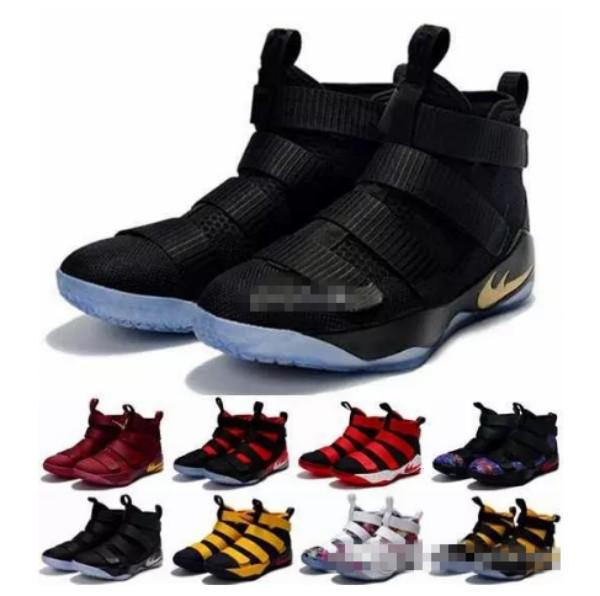 2017 Special Limited Edition Soldiers 11 Basketball Shoes For Men High Quality Man-at-arms XI Soldier 11s Mens Sports Training Sneakers