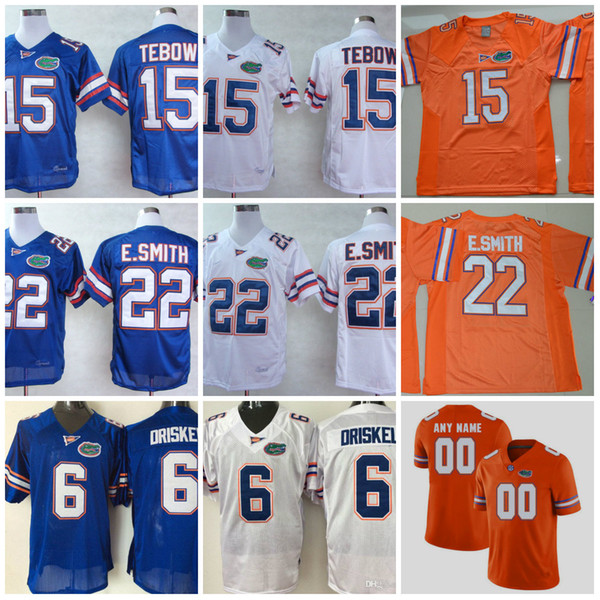new styles 882af a8327 2017 Mens Ncaa Florida Gators Tim Tebow College Football Jerseys Stitched  #22 Emmitt Smith 6 Jeff Driskel Florida Gators Throwback Jersey S 3xl From  ...