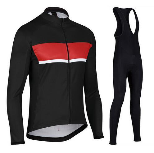 best selling RAVTTD 2018 Men Cycling Jersey Roupa Ciclismo Bike Wear Bicycle Clothing Ciclismo Maillot Long Sleeeve Cycling Clothes sets