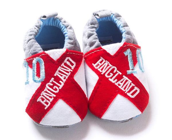 Hot Sale Number Cool Baby Newborn Shoes First Walkers Boys Girls Toddlers Fashion Letter Prewalkers 11 12 13 cm