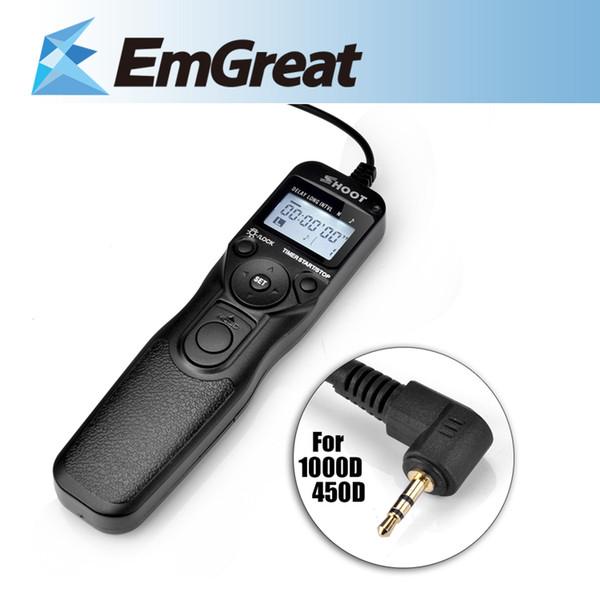 wholesale RS-60E3 Selfie Timer Remote Control Shutter Release Cable TC-C1 for Canon 60D 70D 600D 1000D G11 550D 650D 700D 750D 760D