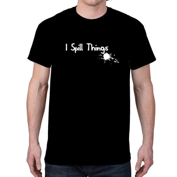 Мужская я разлить вещи футболка для взрослых 100% хлопок индивидуальные тройники хлопок свободные коротким рукавом Мужские футболки китайский стиль топ Tee