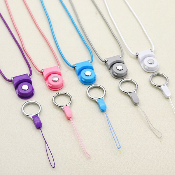 Universal Detachable Phone Lanyard Hanging Rope for Mobile Phone Strap Chain Security Badge Chain for ID cards 2000pcs