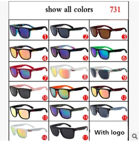top popular New Sunglasses Outdoor sports sunglasses 731 silver Modern Anti-UV Beach eyewear Hot Sale Australian Brand sunglasses Free shipping 2019