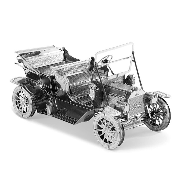 Metal 1908 Ford Model T 3D Metal Model Kit DIY Toy Metal Sheets Assembling Puzzle 3D Puzzles