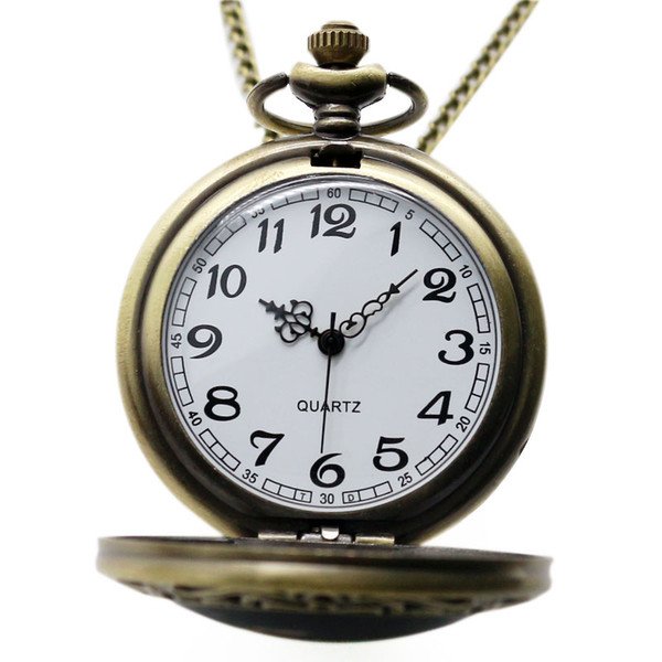 Men's Pocket Watch, Motorcycle Quartz Watch Pocket Watch, Chain Christmas Gift for Men