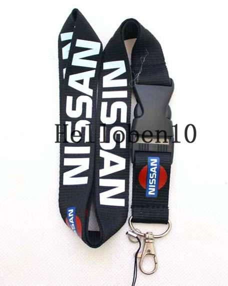 Factory direct selling! 100 key chains and mobile lanyard are marked with car signs. You can also hang up your mobile phone and camera.