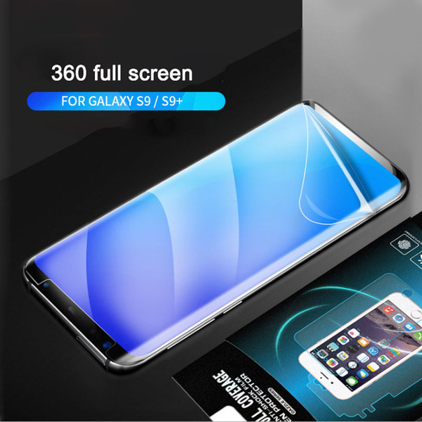 3D Curved Full Screen TPU Nano Explosion-Proof Mobile Phone Film For Samsung Galaxy S7 Edge S8 S8 plus S6 edge plus S6 edge note5