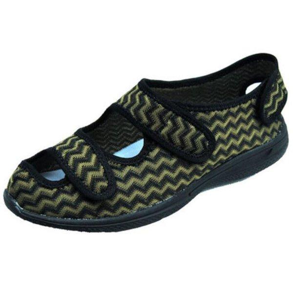 57b3efded9e8 Pé deformado sapatos inchados pé de verão polegar gordo fora ajuste sapatos  de meia-idade