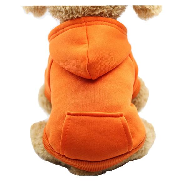 Pet Pouch Jacket Fleece Hoodies Sports Wear for Small Dogs 2018 Autumn Winter Jacket Warm Clothing 2 Feet 2 Legs Hi Vis Jacket
