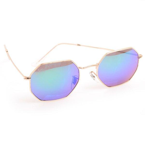 Cadre doré bleu Lens A