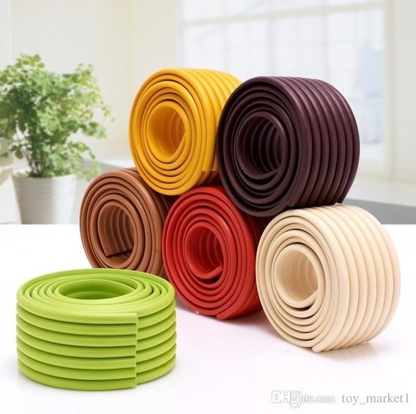 Wholesale2M long anti-collision protection bar- Kids Baby Safety Softy Table Edge Corner Guard Cover Cushion Protector Bumper