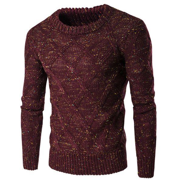 Großhandel Herbst Pullover Männer 2018 Marke Mode Pullover Pullover Männlichen Oansatz Streifen Slim Fit Stricken Herren Pullover Mann Pullover Männer